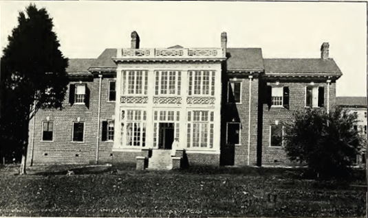 Peterson Hall from 1913-14 Catalog