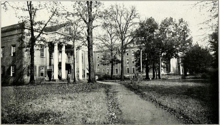 View of Academic Building from the 1913-14 Catalog